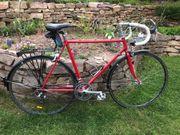 Rennrad mit Stahlrahmen 28er 12