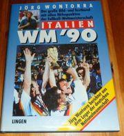 Buch Fußball WM 90