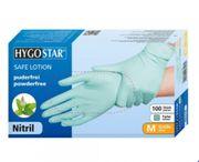 Hygostar Nitril Handschuhe Safe Lotion