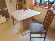 Neuwertiger Esstisch in Sonoma-Eiche mit