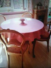 Runder Tisch mit 4Stühlen im