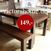 Esstisch Küchentisch Schreibtisch Hartholztisch 145x90