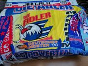 Adler Mannheim Fahne 3 Schals
