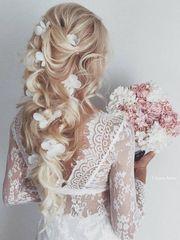 Brautstyling Hochsteckfrisur Brautfrisur Makeup