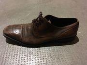 dunkelbraune BOSS-Schuhe Gr 11 Gr