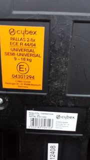 Kindersitz Pallas 2-fix Cybex