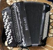BUGARI Knopfakkordeon mit Cassotto 4-chörig