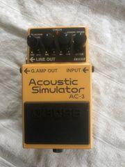 Boss AC-3 Akustikgitarren Simulator Pedal