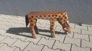 Hocker Holz Hyäne