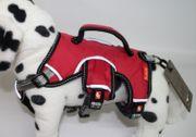Ferribiella Hundegeschirr Sicherheitsgeschirr Farbe rot