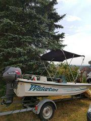 Motorboot Quicksilver wegen Neuanschaffung zu