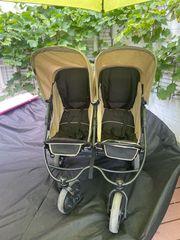 Kinderwagen Geschwisterwagen Zwillingswagen Hauck Roadster