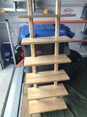 Värde IKEA Wandregal aus Holz