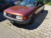 Verkaufe Audi 80 EZ 9