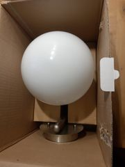 Neue Aussenlampe