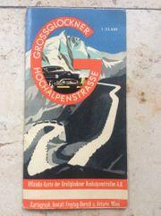 Grossglockner Hochalpenstrasse - Rarität Straßenkarte v
