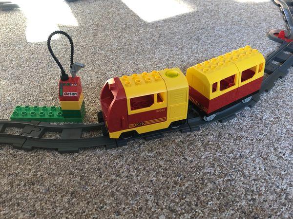 Lego Duplo Eisenbahn viel Zubehör