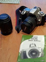 Canon EOS 300 zwei Objektive