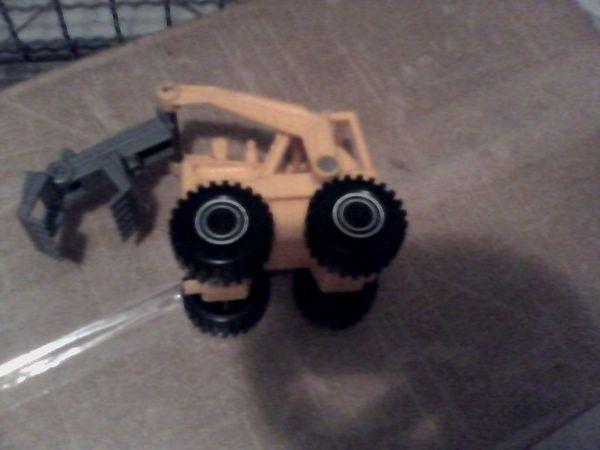 Bagger Lader - Spielzeug - Kunststoff - ca