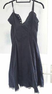 Kleid schwarz Spitze Gothic usw