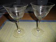 Weinglas Blatt und Trauben Gravur