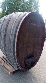 Großes Holzfaß 2500 L