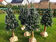 Künstliche Weihnachtsbäume - die sehen wirklich