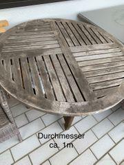 Tisch Gartentisch Teakholz