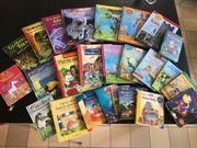 Kiste mit Kinderbüchern