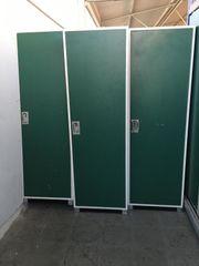 diverse grüne Spinte