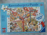 Puzzle Baustelle Ravensburger 84 Teile