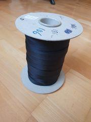 Saumband schwarz 106m 1 5cm