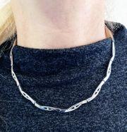 Zirkonia Damen-Collier Silber Juwelieranfertigung