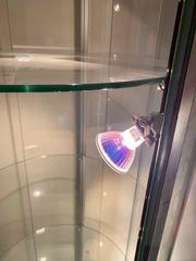 Beleuchtete Glasvitrine Sammler Glasschrank