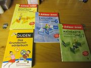 Lernbücher Mathe Deutsch Englisch DUDEN
