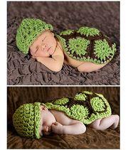 Süße Baby Mütze Schildkröte Turtles