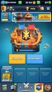 Clash Royale Account Lvl 12