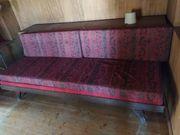 Vintage Gästebett in Sofa verwandelbar