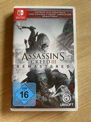 Assassins Creed III 3 Remastered