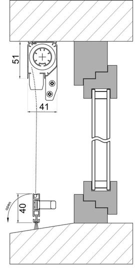 Bild 4 - Insektenschutz - Rollo ROLLFIX 1200mm x - Erding