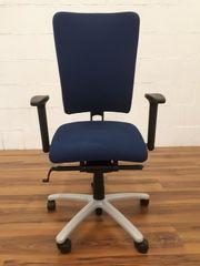 Bürodrehstuhl Rohde und Grahl blau