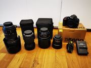 Nikon Kamera Set