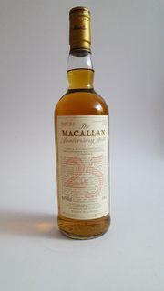 Macallan Anniversary 25 Years 1965