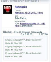 3 Tickets für Rammstein in