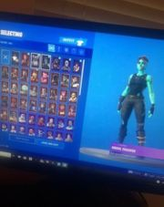 fortnits ghoul trooper account