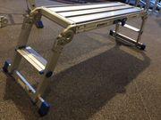 ALUMEXX X-STEP Arbeitsplattform zusammenklappbar Aluminium