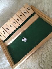Shut the box- Würfelspiel