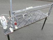 Styroporschneidemaschine Hausisolierung schneiden -mit Heißdraht