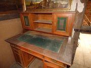 Antiker Sekretär Schreibtisch mit Aufsatz