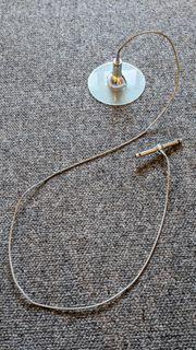 Hochwertige Solo-Pendelleuchte für 12V-Seilsystem